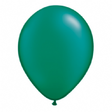 "Qualatex 11 inch Balloons - Pearl Emerald Green 11"" Balloons (Radiant 100pcs)"